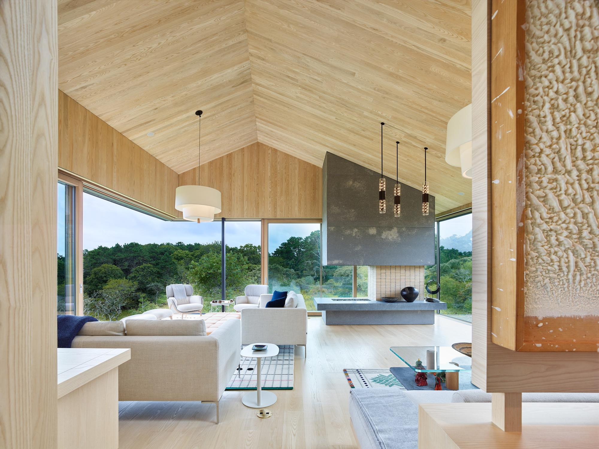 Chilmark House Interiors | Architecture in Martha\'s Vineyard
