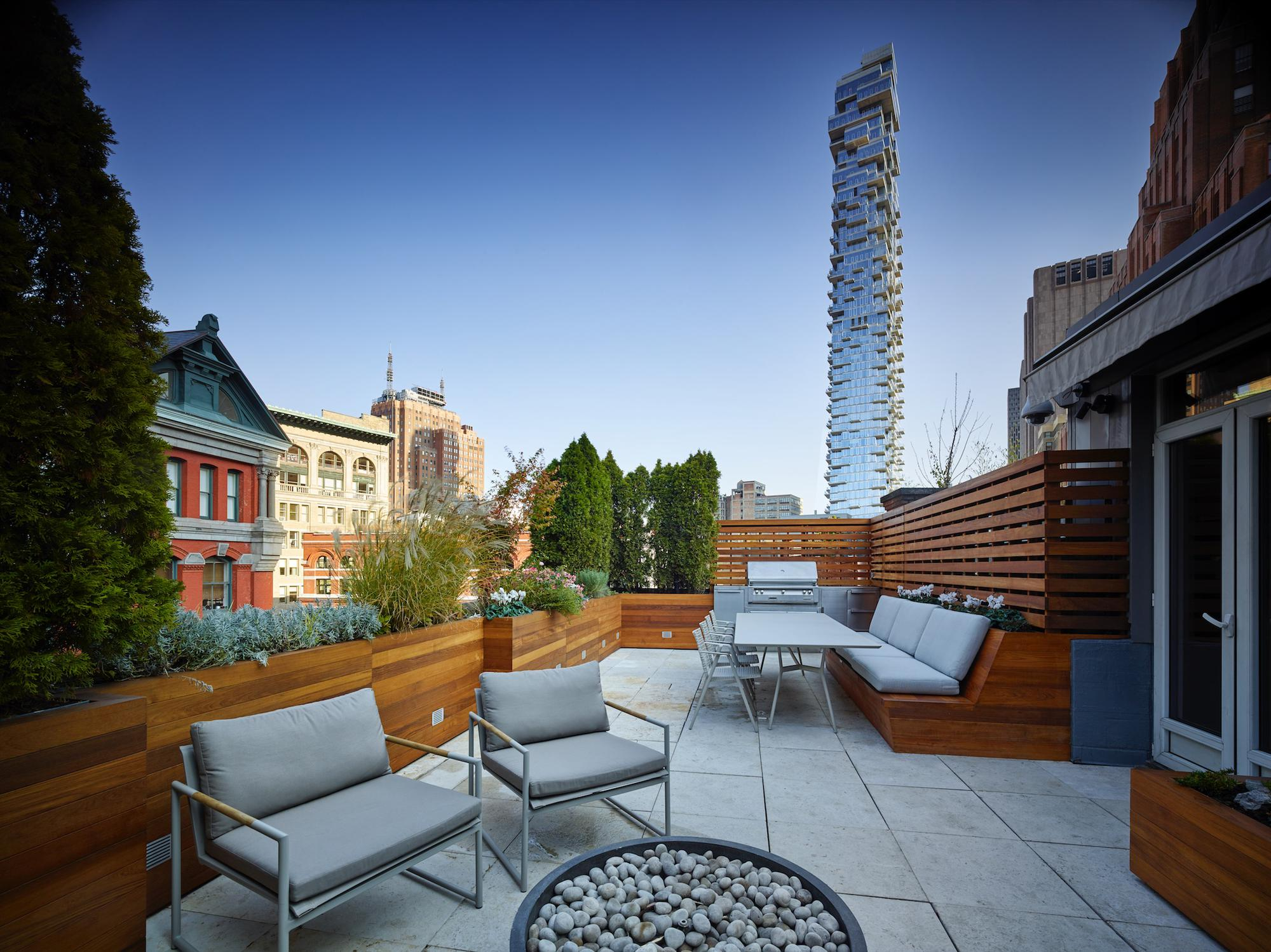 TRIBECA ROOFSCAPE _ NYC